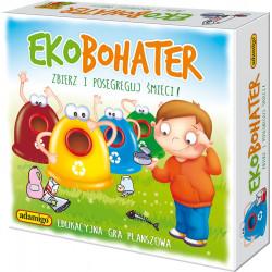 Gra edukacyjna - Ekobohater