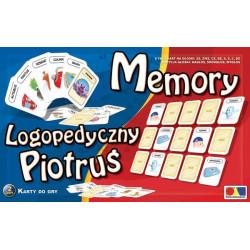 Memory i logopedyczny Piotruś. Zestaw I