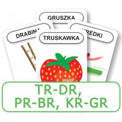 Logopedyczny Piotruś. Część XIV – głoski TR-DR, PR-BR, KR-GR