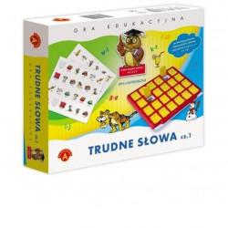 Gra logopedyczna - Trudne słowa cz. 1