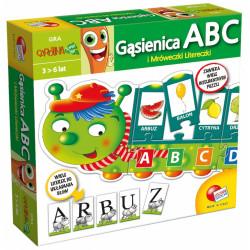Gra edukacyjna - Gąsienica ABC