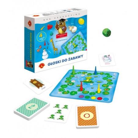 Gra logopedyczna - Głoski do zabawy