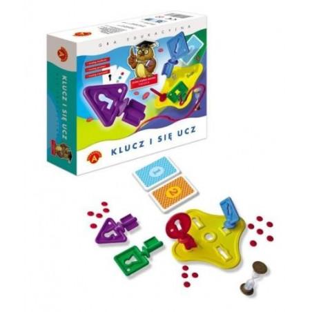 Gra edukacyjna - Klucz i się ucz