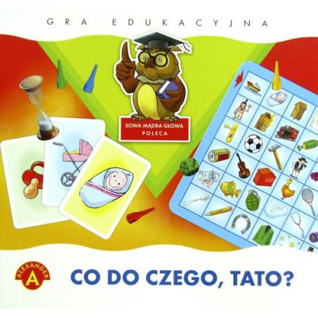 Gra edukacyjna - Co do czego, Tato?