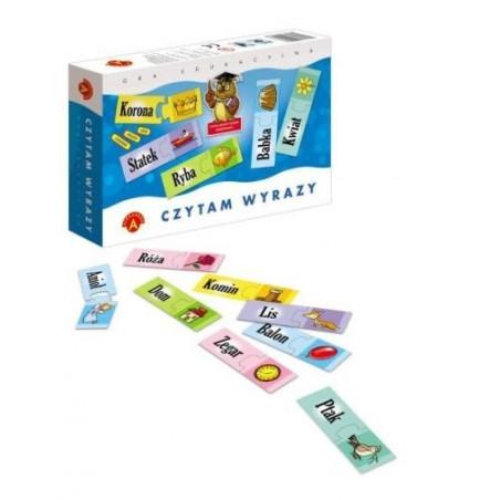 Gra edukacyjna - Czytam wyrazy