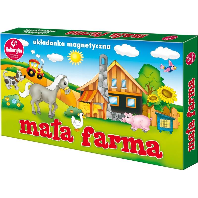 Układanka magnetyczna - Mała farma
