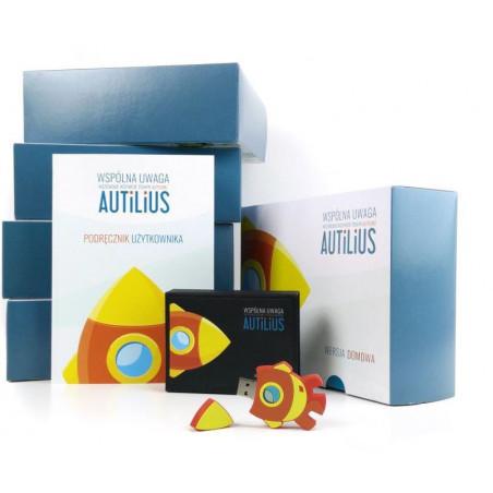 Autilius. Wspólna Uwaga. Wersja domowa (program zawierający 6 gier terapeutycznych, jeden użytkownik)