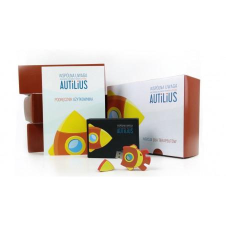 Autilius. Wspólna Uwaga. Wersja dla terapeutów (program zawierający 6 gier terapeutycznych - wielu użytkowników)