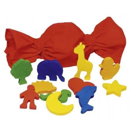 Rozpoznaj kształt - pomoc sensoryczna. Memo