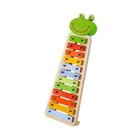 Ksylofon z żabką. Zestaw muzyczny