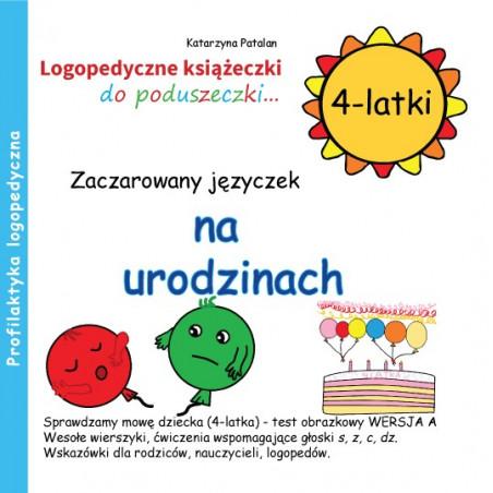 Zaczarowany języczek na urodzinach