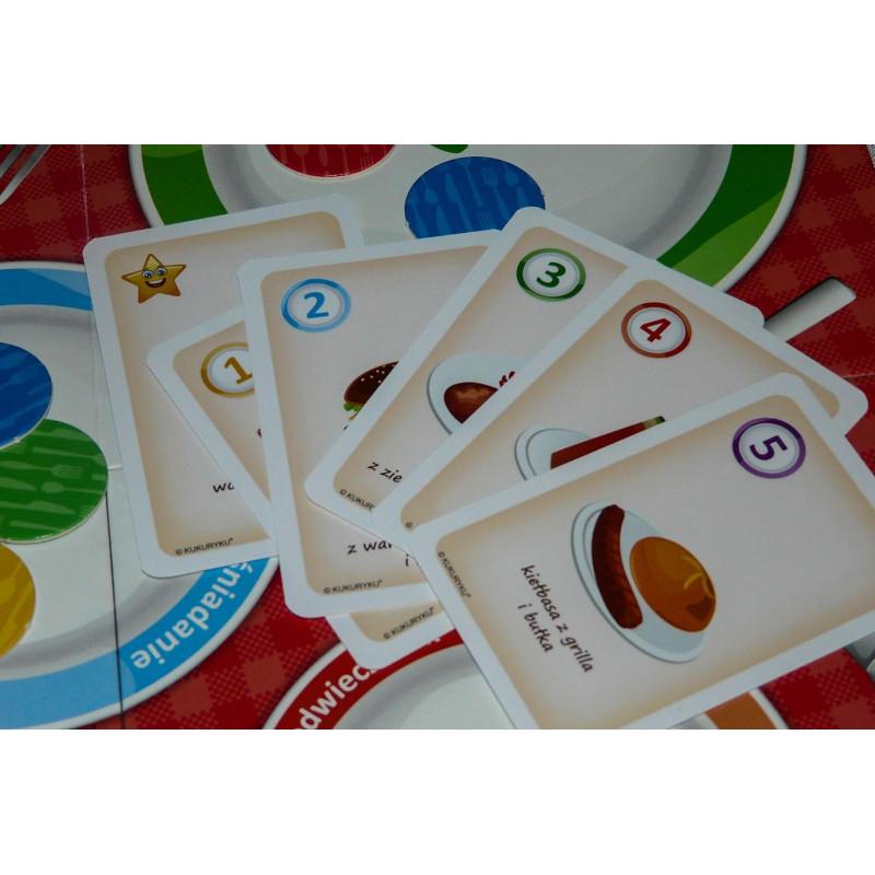 Edukacyjna gra planszowa - Wiesz, co jesz?