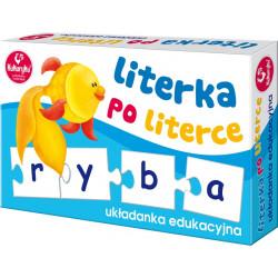 Układanka edukacyjna - Literka po literce