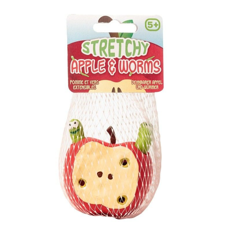 Gniotek - zabawka sensoryczna - rozciągliwe jabłuszko