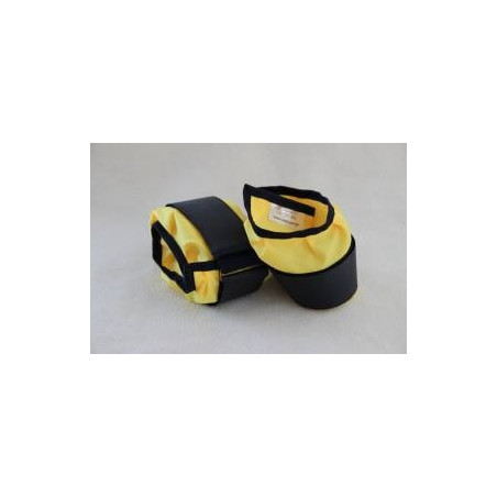 Obciążniki ortalionowe na ręce lub nogi. Pomoce obciążeniowe - pomoce terapeutyczne  z doborem wagi.