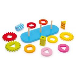 Zabawka motoryczna - kółka zębate