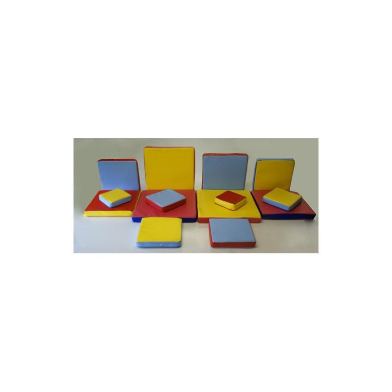 Zestaw klocków (kształtek) piankowych - wieża