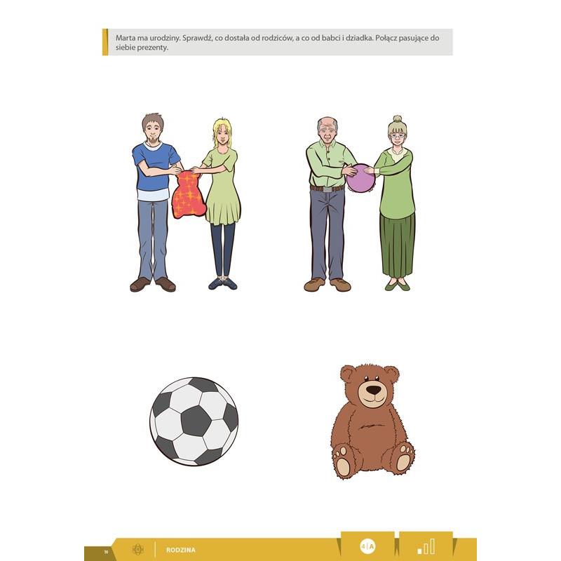 Co dzień naprzód! Oto my. Karty pracy dla dzieci ze specjalnymi potrzebami edukacyjnymi