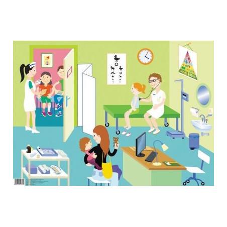 Plansza tematyczna - U lekarza
