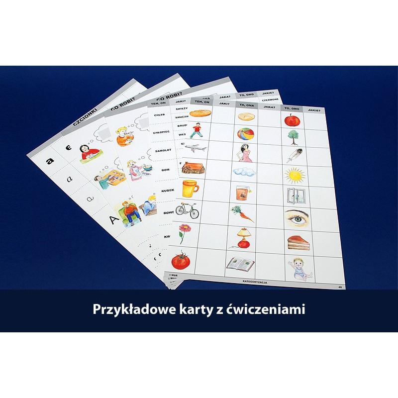 Kategoryzacja. Stymulacja i terapia. Przygotowanie do nauki czytania