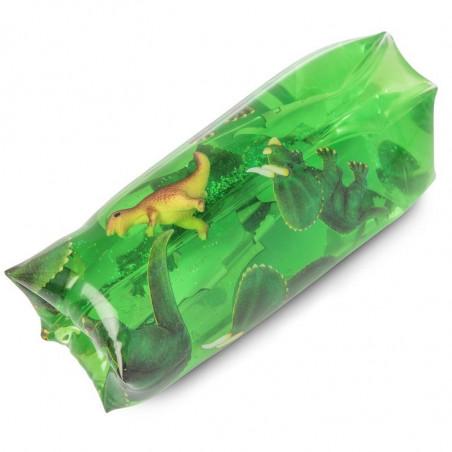 Zabawka motoryczna - wodny wąż Dino gniotek