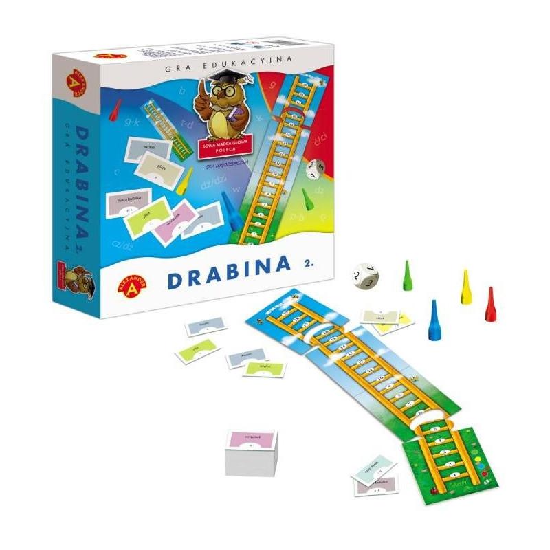 Gra logopedyczna - Drabina 2