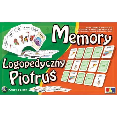 Memory i logopedyczny Piotruś. Zestaw II