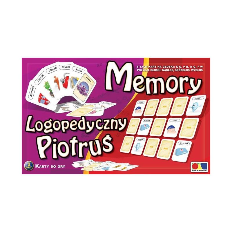 Memory i logopedyczny Piotruś. Zestaw III