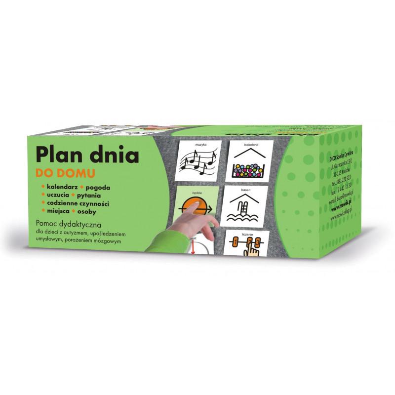 Plan dnia - Do domu. Pomoc komunikacyjna dla dzieci z autyzmem