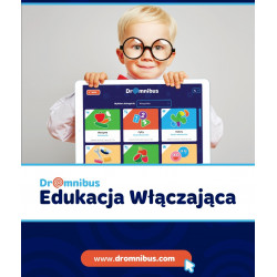 DrOmnibus Edukacja Włączająca - aplikacja edukacyjna, wspierająca terapię dzieci ze specjalnymi potrzebami (Rodzic - 1 konto)