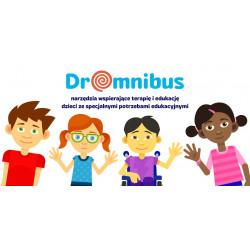 DrOmnibus Edukacja Włączająca - aplikacja edukacyjna, wspierająca terapię dzieci ze specjalnymi potrzebami (Terapeuta - 10 kont)