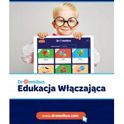 DrOmnibus Edukacja Włączająca - aplikacja edukacyjna, wspierająca terapię dzieci ze specjalnymi potrzebami ( Szkoła -  30 kont)
