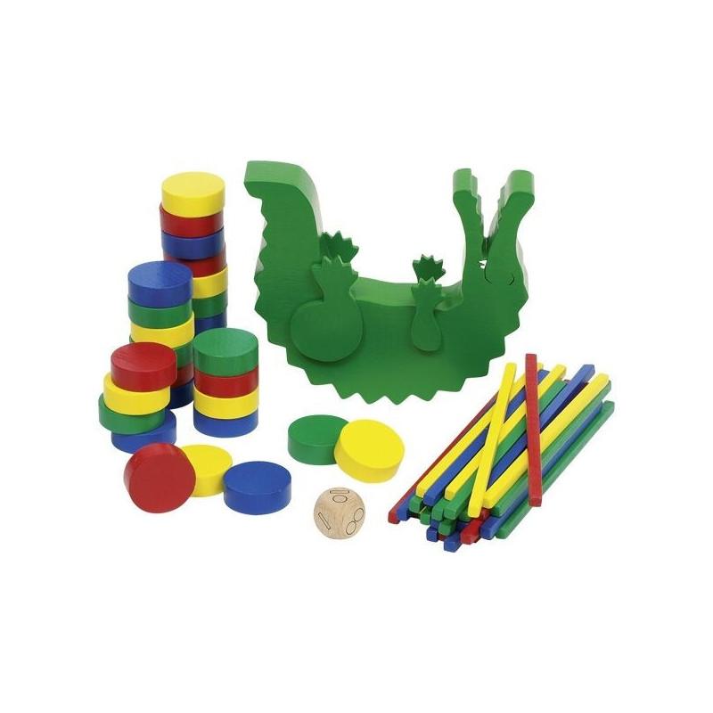 Balansujący aligator - gra zręcznościowa i logiczna