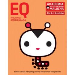Akademia Inteligentnego Malucha. Inteligencja Kreatywna EQ. Zadania i zabawy dla 2- i 3-latków