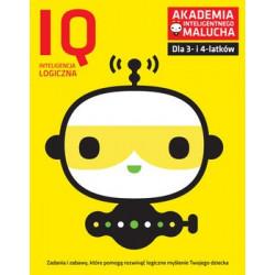 Akademia Inteligentnego Malucha. Inteligencja Kreatywna IQ. Zadania i zabawy dla 2- i 3-latków