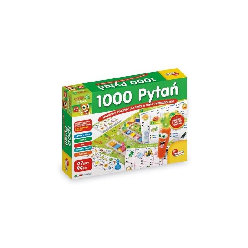 1000 Pytań Kompletny program dla dzieci w wieku przedszkolnym