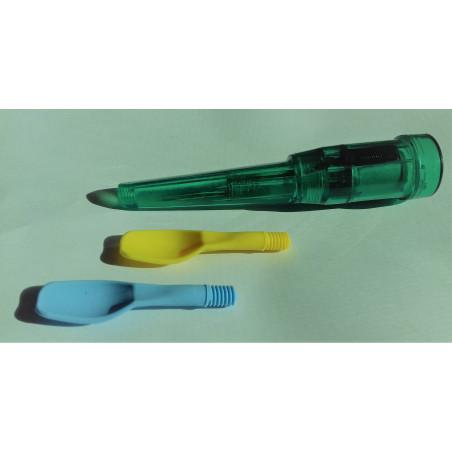 Wibrator logopedyczny Rerek - zestaw z łopatkami