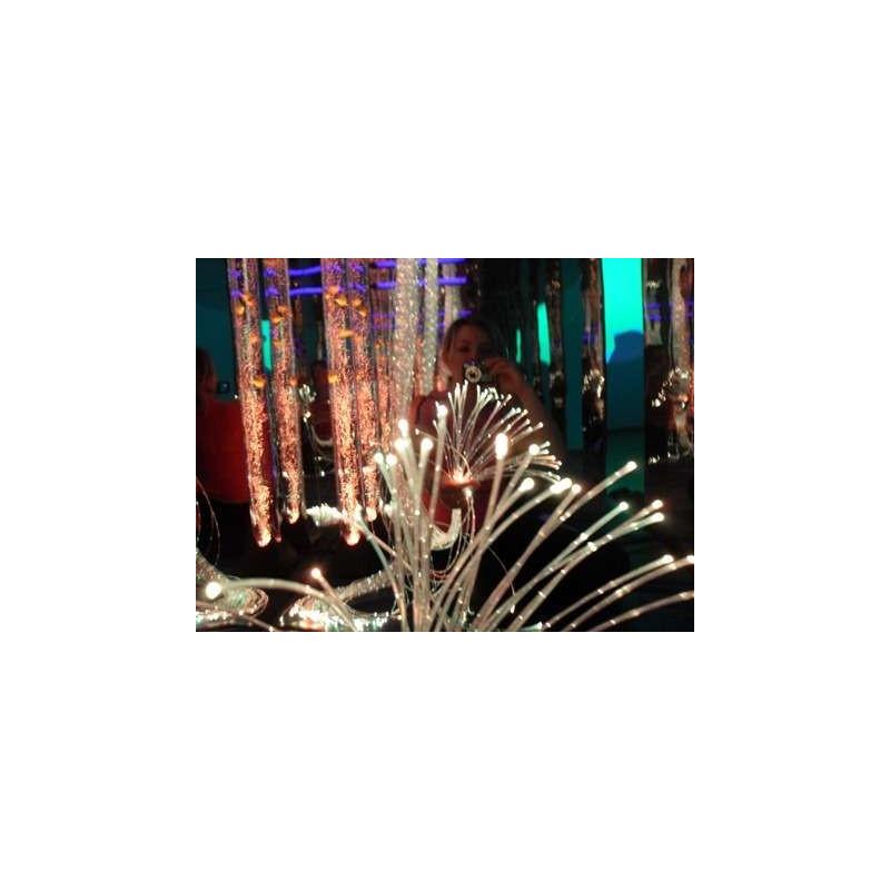 Zestaw światłowodów 100szt. x 100 cm (6 kolorów)