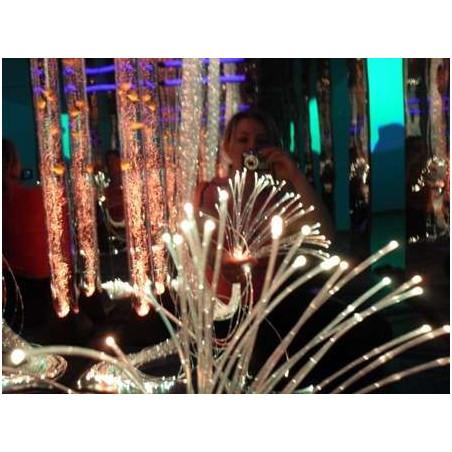 Zestaw światłowodów 100 szt. x 100 cm (6 kolorów)
