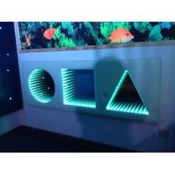 Tunel nieskończoności LED 3 figury