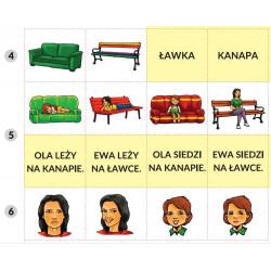 Łączenie wyrazów w zdania. Terapia językowa dzieci i dorosłych.