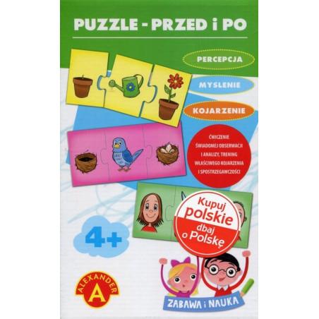 Puzzle edukacyjne - Przed i Po