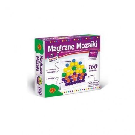 Zabawa edukacyjna - Magiczne Mozaiki 160 szt.