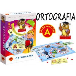 Ortografia - układanka edukacyjna