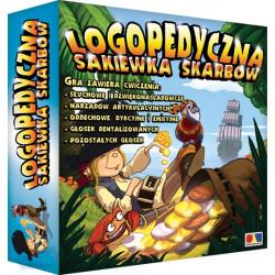 Logopedyczna sakiewka skarbów - gra logopedyczna