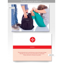 TRUDNE SYTUACJE SPOŁECZNE cz. 1 - Rozmawiam z dziećmi o sytuacjach szkolnych i relacjach rówieśniczych