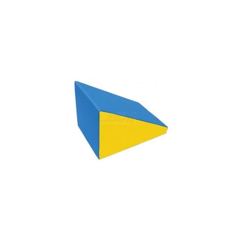 Kształtka do suchego basenu - RAMPA 60x60x90 cm