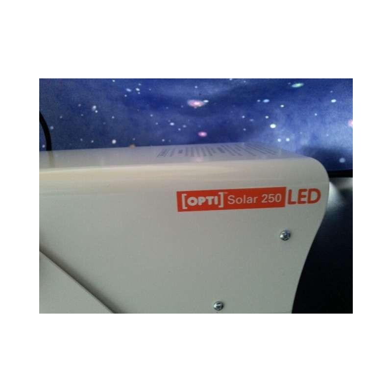 Projektor Solar LED 250 w komplecie z silnikiem 1/2 rpm bezprzewodowym