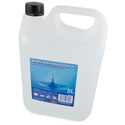 Woda demineralizowana (5L.)