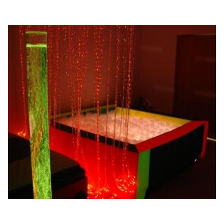 Basen z podświetlanymi piłeczkami 200x200x60 cm